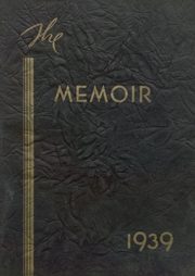 Page 1, 1939 Edition, Ferris High School - Memoir Yearbook (Ferris, TX) online yearbook collection