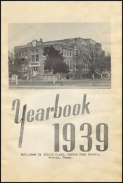 Page 5, 1939 Edition, Ferris High School - Memoir Yearbook (Ferris, TX) online yearbook collection
