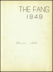Page 7, 1949 Edition, Jacksboro High School - Fang Yearbook (Jacksboro, TX) online yearbook collection