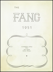 Page 7, 1951 Edition, Jacksboro High School - Fang Yearbook (Jacksboro, TX) online yearbook collection