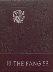 Page 1, 1953 Edition, Jacksboro High School - Fang Yearbook (Jacksboro, TX) online yearbook collection