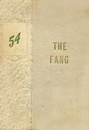 Page 1, 1954 Edition, Jacksboro High School - Fang Yearbook (Jacksboro, TX) online yearbook collection