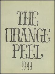 Page 7, 1949 Edition, Stark High School - Orange Peel Yearbook (Orange, TX) online yearbook collection