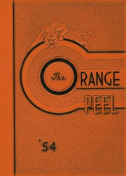 1954 Edition, Stark High School - Orange Peel Yearbook (Orange, TX)