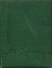 1949 Edition, St Thomas High School - Aquin Yearbook (Houston, TX)