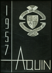 1957 Edition, St Thomas High School - Aquin Yearbook (Houston, TX)