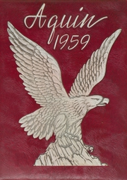 1959 Edition, St Thomas High School - Aquin Yearbook (Houston, TX)