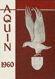 1960 Edition, St Thomas High School - Aquin Yearbook (Houston, TX)