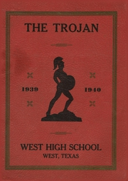 West High School - Trojan Yearbook (West, TX) online yearbook collection, 1940 Edition, Page 1