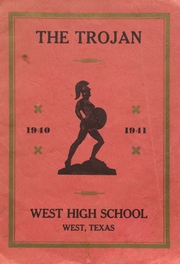 West High School - Trojan Yearbook (West, TX) online yearbook collection, 1941 Edition, Page 1