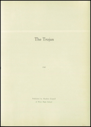 Page 7, 1945 Edition, West High School - Trojan Yearbook (West, TX) online yearbook collection