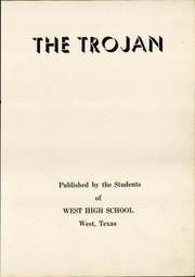 Page 7, 1949 Edition, West High School - Trojan Yearbook (West, TX) online yearbook collection