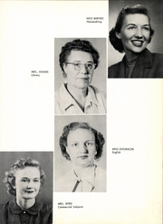Page 13, 1953 Edition, West High School - Trojan Yearbook (West, TX) online yearbook collection