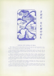 Page 11, 1936 Edition, Cathedral High School - Chaparral Yearbook (El Paso, TX) online yearbook collection