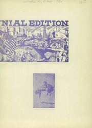 Page 3, 1936 Edition, Cathedral High School - Chaparral Yearbook (El Paso, TX) online yearbook collection