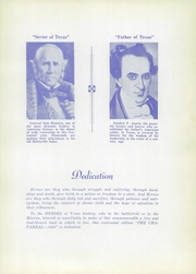 Page 9, 1936 Edition, Cathedral High School - Chaparral Yearbook (El Paso, TX) online yearbook collection