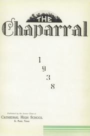 Page 5, 1938 Edition, Cathedral High School - Chaparral Yearbook (El Paso, TX) online yearbook collection