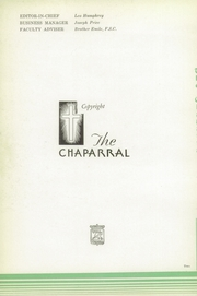 Page 6, 1938 Edition, Cathedral High School - Chaparral Yearbook (El Paso, TX) online yearbook collection