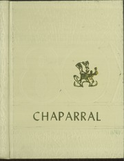 1980 Edition, Cathedral High School - Chaparral Yearbook (El Paso, TX)