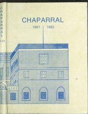 1982 Edition, Cathedral High School - Chaparral Yearbook (El Paso, TX)