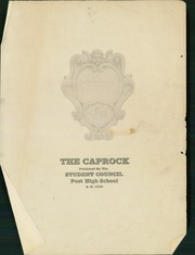 Page 3, 1938 Edition, Post High School - Caprock Yearbook (Post, TX) online yearbook collection