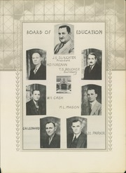 Page 9, 1938 Edition, Post High School - Caprock Yearbook (Post, TX) online yearbook collection
