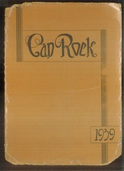1939 Edition, Post High School - Caprock Yearbook (Post, TX)