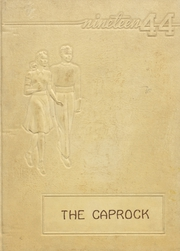 Post High School - Caprock Yearbook (Post, TX) online yearbook collection, 1944 Edition, Page 1