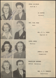 Page 12, 1945 Edition, Post High School - Caprock Yearbook (Post, TX) online yearbook collection