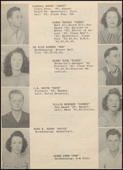 Page 15, 1945 Edition, Post High School - Caprock Yearbook (Post, TX) online yearbook collection