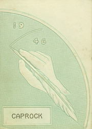Post High School - Caprock Yearbook (Post, TX) online yearbook collection, 1946 Edition, Page 1