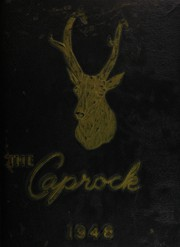 Post High School - Caprock Yearbook (Post, TX) online yearbook collection, 1948 Edition, Page 1
