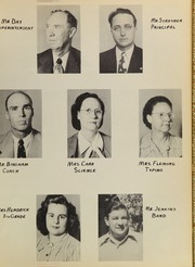 Page 11, 1949 Edition, Post High School - Caprock Yearbook (Post, TX) online yearbook collection