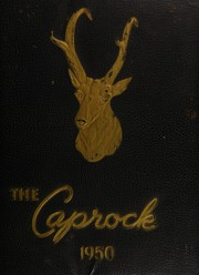 Post High School - Caprock Yearbook (Post, TX) online yearbook collection, 1950 Edition, Page 1