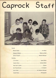 Page 10, 1953 Edition, Post High School - Caprock Yearbook (Post, TX) online yearbook collection