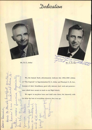 Page 10, 1955 Edition, Post High School - Caprock Yearbook (Post, TX) online yearbook collection