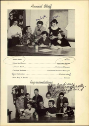 Page 11, 1955 Edition, Post High School - Caprock Yearbook (Post, TX) online yearbook collection