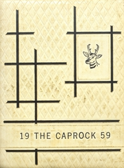 Page 1, 1959 Edition, Post High School - Caprock Yearbook (Post, TX) online yearbook collection