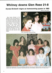 Page 14, 1984 Edition, Whitney High School - Wildcat Yearbook (Whitney, TX) online yearbook collection