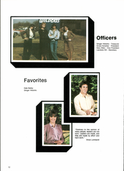 Page 16, 1984 Edition, Whitney High School - Wildcat Yearbook (Whitney, TX) online yearbook collection