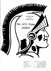 Page 5, 1970 Edition, James Madison High School - Trojan Yearbook (Dallas, TX) online yearbook collection