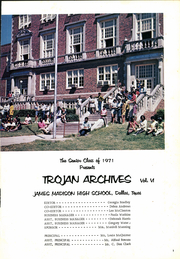 Page 5, 1971 Edition, James Madison High School - Trojan Yearbook (Dallas, TX) online yearbook collection