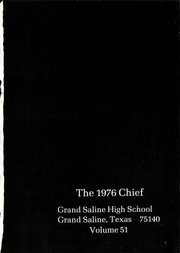 Page 5, 1976 Edition, Grand Saline High School - Chief Yearbook (Grand Saline, TX) online yearbook collection