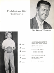 Page 9, 1961 Edition, Hardin High School - Footprints Yearbook (Hardin, TX) online yearbook collection