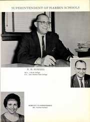 Page 11, 1962 Edition, Hardin High School - Footprints Yearbook (Hardin, TX) online yearbook collection
