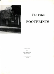 Page 7, 1963 Edition, Hardin High School - Footprints Yearbook (Hardin, TX) online yearbook collection