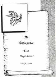 Page 7, 1968 Edition, Boyd High School - Yellowjacket Yearbook (Boyd, TX) online yearbook collection