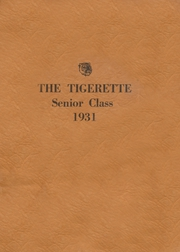 Page 1, 1931 Edition, Electra High School - Bengal Yearbook (Electra, TX) online yearbook collection