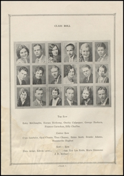 Page 11, 1931 Edition, Electra High School - Bengal Yearbook (Electra, TX) online yearbook collection