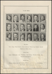 Page 12, 1931 Edition, Electra High School - Bengal Yearbook (Electra, TX) online yearbook collection